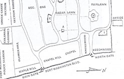 Picture of Cemetery Map